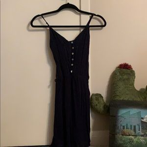 Dark blue size small dress short